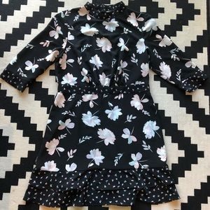 The Limited High Neck Floral Dress Size 12